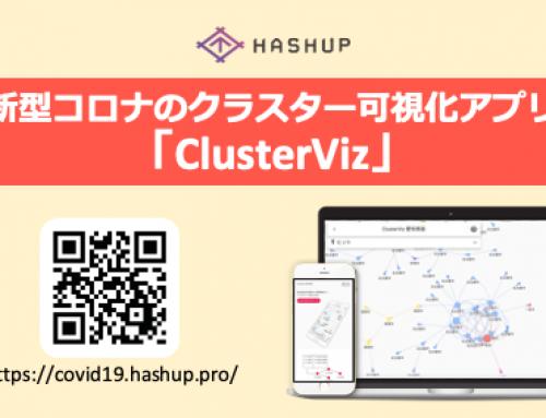 新型コロナのクラスター可視化アプリ「ClusterViz」をリリース